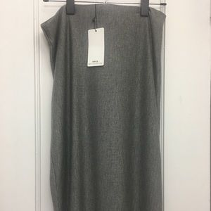 Mango Suit Collection Grey Skirt US S (4-6)